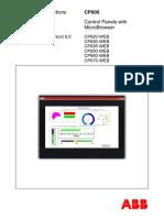 Manual CP600web