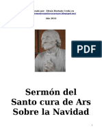 SERMON CURA DE ARS SOBRE LA NAV