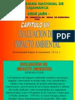 MATRIZ DE EVALUACION DE IMPACTOS AMBIENTALES.