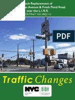 Bus diversions, Metro bridge project