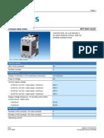 Datasheet 3rt1044-1al20 en Contactor