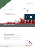 Ceragon IP 20 Platform Brochure 2016 ANSI Online