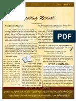 Christian Revival Newsletter Oct/Dec 2015