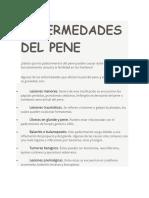 Enfermedades Del Pene