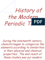 4. History of the PeriodicTable