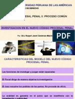 1 Investigacion en El NCPP