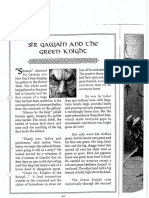 sir gawain and the green knight - prose
