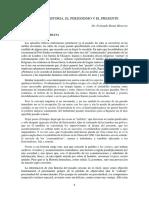 Lectura Fernando Rosas Entre La Historia El Periodismo y El Presente