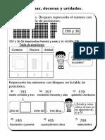 Matemáticas - Centenas, decenas y unidades.doc
