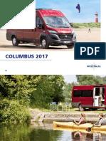 Columbus modelo 2017