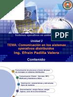 Unidad 2 Comunicación en Sistemas Operativos Distribuidos