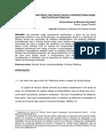 SERVICO SOCIAL HISTORICO RECONCEITUACAO E INTERSETORIALIDADE NAS POLITICAS PUBLICAS.pdf