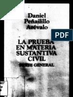 La Prueba en Materia Sustantiva Civil