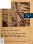 Prediction of Pore Water Pressure Buildup and Liquefaction of Sands During