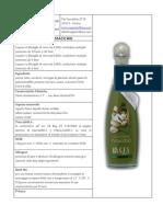 Scheda Tecnica Crema Di Liquore Di Pistacchio