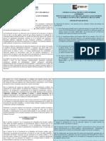 Proyecto Ley Educación Superior (comparación)
