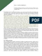 La Nobleza Capital Social y Capital Simbólico - Pierre Bourdieu