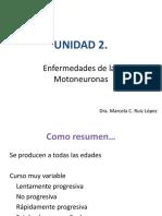 UNIDAD 2. Enfermedades de las Motoneuronas