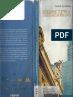 Patrimônio Cultural - Conceitos, Políticas, Instrumentos.