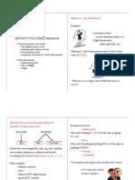Physics I notes