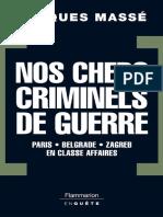 Nos Chers Criminels de Guerre