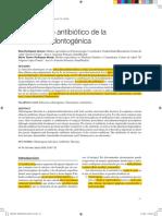 Tratamiento Antibiótico de La Infección Odontogénica