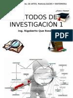 Metodos de Investigacion 1 Presentacion