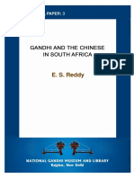 Gandhi and the Chinese in South Africa