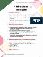 Incibe Kit de Concienciacin Test Evaluacin La Informacin