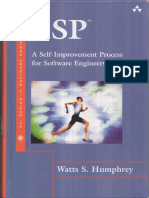 Personal Software Programming (PSP)