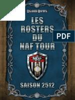 Rosters Naf Tour 2512