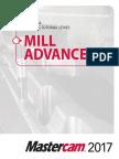 Mastercam 2017 Mill Advanced Training Tutorial SAMPLE