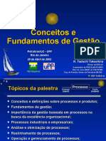 Conceitos e Fundamentos Gestão de Processos