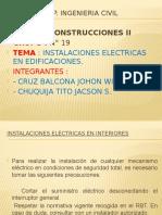 Instalaciones Electricas en Interiores