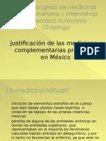 justificacion medicinas complementarias presentes en Mexico.ppt