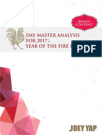 Fire Rooster Annual Day Master Analysis