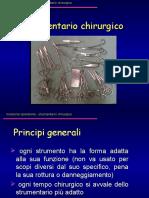 Strumentario Chirurgico 2011