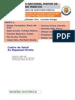 Sistema de Atención en Consulta Externa Del CS Hiroito