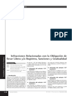 Infracciones Tributarias Libros Contables
