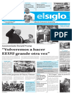 Edición Impresa Elsiglo 21-01-2017