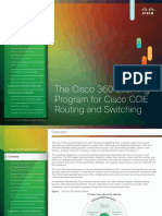 Cisco 360 Learning Data Sheet