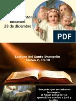 0. Navidad, Dia de Los Santos Inocentes-meditación
