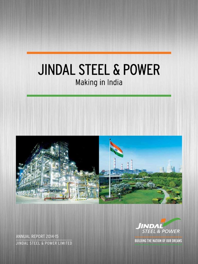 Jindal Power Steel Make In India Coal Gasification So Good Animal 400 G Bm 609013
