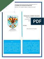 """Capítulo 3 """"El Centro en El Desarrollo Del Currículum de Las Políticas de Mejora"""""""
