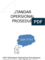 Standar Opersional Prosedur