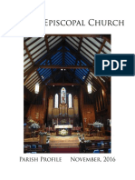 Parish Profile 2016 - 01112017