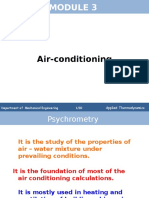 Psychrometry and Airconditioning