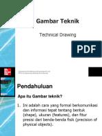 Gambar Teknik 1 PDF