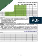 Cl315 PVC Pressure Friction Loss Calculator