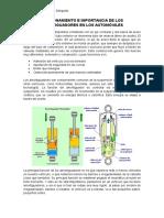 Funcionamiento e Importancia de Los Amortiguadores